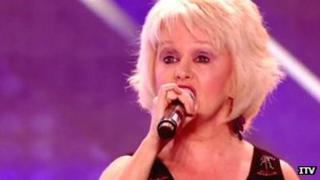 Alison Brunton on X Factor