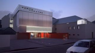An artist's impression of how the theatre will look