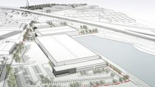 Plan for the advanced manufacturing hub in Aston