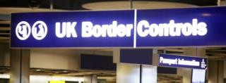 Heathrow border control