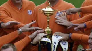 The Ryder Cup is the trophy all golfers want to win