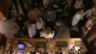 Nottingham bar