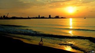 Beach at Batumi