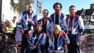 Herefordshire Paralympian homecoming