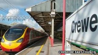 Crewe rail station
