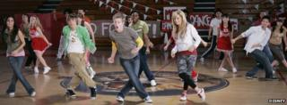 Scene from High School Musical