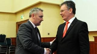 John McCallister and Mike Nesbitt