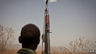 South Sudan soldier (file photo)