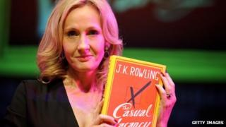 JK Rowling with new book The Casual Vacancy