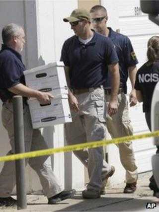 Police search Arc Electronics Inc in Houston, 3 October