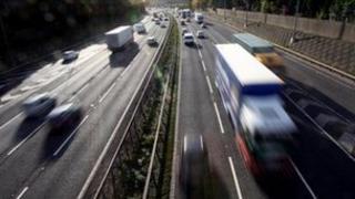 Motorway traffic - generic