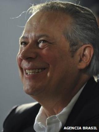 Jose Dirceu, former Brazilian chief of staff