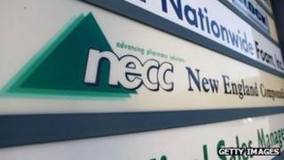 The New England Compounding Center is shown here on 5 October 2012 in Framingham, Massachusetts
