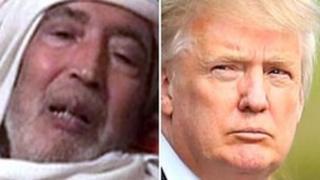 Abdelbaset al-Megrahi and Donald Trump