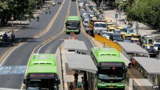 Delhi BRT corridor