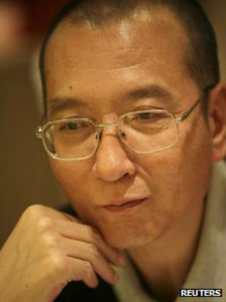 Nobel Prize laureate Liu Xiaobo