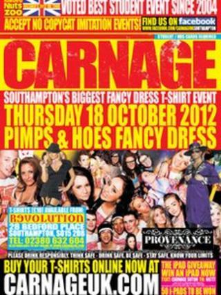 Carnage flyer