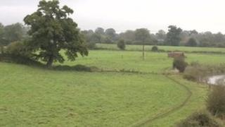 The area where the incident happened