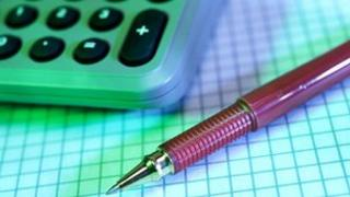 pen, calculator and graph paper