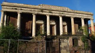 Sunday School in Burslem, which is among almost 6,000 buildings and historic sites at risk of being lost,