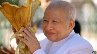 Norodom Sihanouk. Photo: 2002