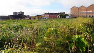 Derelict site