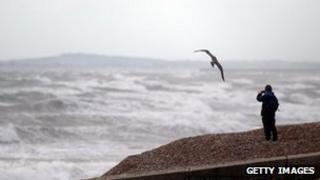 Stormy coastline (generic)