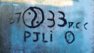 PCC graffiti