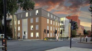 Artist impression of the new look Roman House