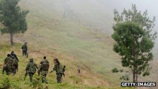 Farc guerrillas (file pic 2012)