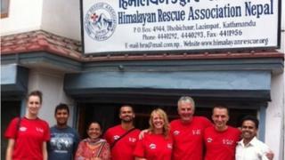 Himalayan Rescue Association team