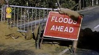 Floods sign