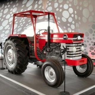 The 1970s Massey Ferguson tractor