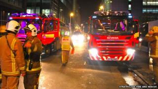 Fire in York Street