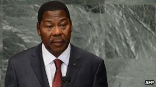 President Thomas Boni Yayi