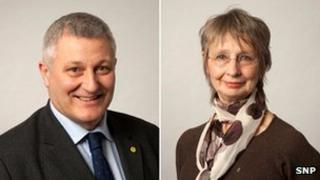John Finnie and Jean Urquhart