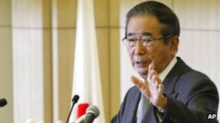 Japanese politician Shintaro Ishihara