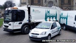 Enterprise Peterborough vehicles