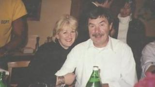 Paul Coventry and his fiance Belinda Wells