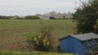 Farm buildings, Weston Underwood