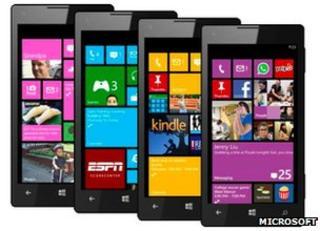Windows Phone 8 interface