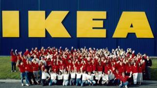Ikea's first UK store opens in Warrington