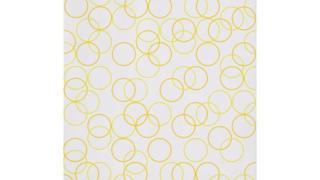 Bridget Riley, Two Yellows, Composition with Circles 4, 2011. © 2012 Bridget Riley. Courtesy Karsten Schubert, London