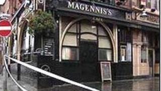 Mr McCartney was stabbed outside Magennis's bar in Belfast