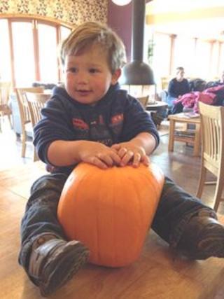 Square pumpkin