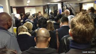 People delayed by Central Line suspension
