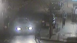 CCTV image of a motorbike near the scene of the attack in Brighton