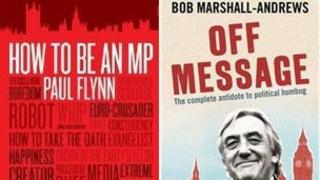 Covers of Paul Flynn and Bob Marshall-Andrews books