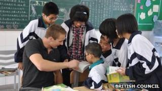 Language assistant in China