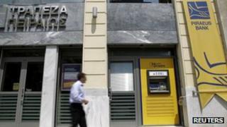 Piraeus Bank branch